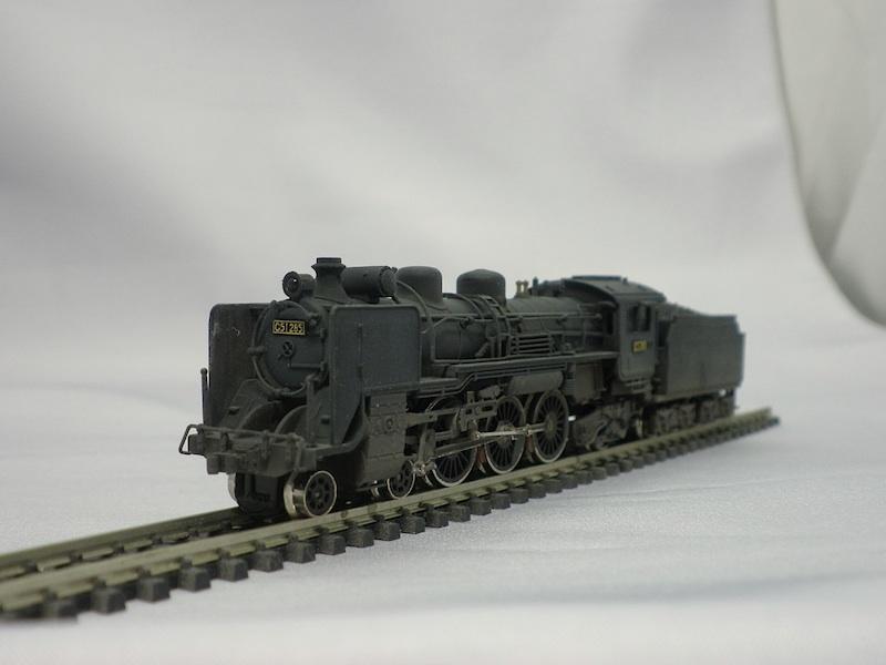 1/150 国鉄C51形蒸気機関車: 幻...